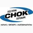 Logo for CHOK 1070AM/103.9FM