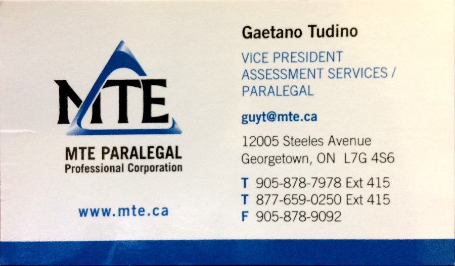 MTE Paralegal Professional Corporation